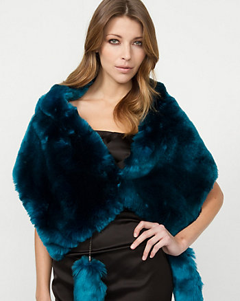 Faux Fur Short Scarf