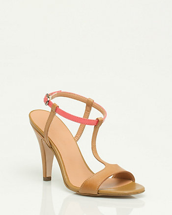 Leather & Patent Sandal