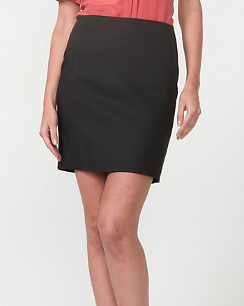 Modal Blend Pencil Skirt