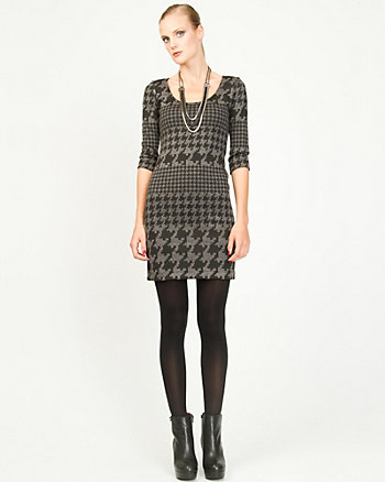 Jacquard Tunic Dress