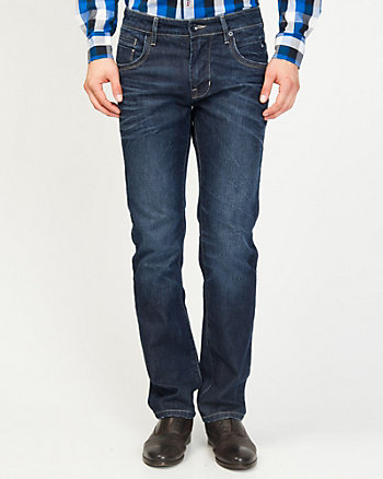 Tapered Straight Leg Jean