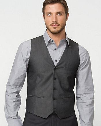 Sharkskin Contemporary Fit Vest