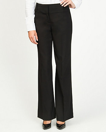 Viscose Blend Relaxed Fit Trouser