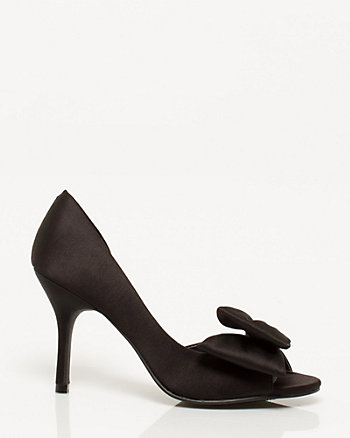 Satin D'orsay Pump