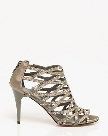 Gem Encrusted Strappy Sandal