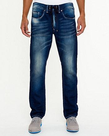 Low-Rise Dark Wash Jeans