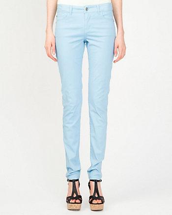 Coloured Peached Denim Pant