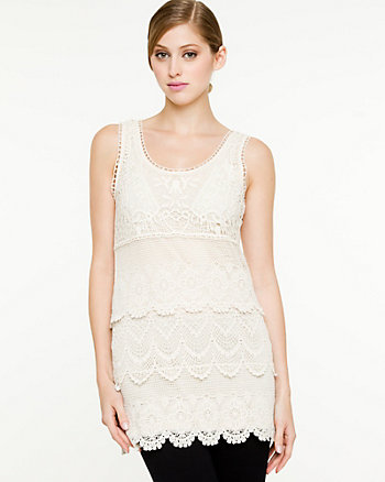 Crochet Sleeveless Tunic