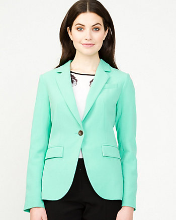 Double Weave European Fit Blazer