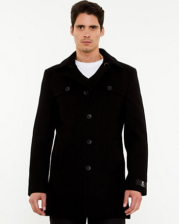 Melton Notch Collar Carcoat