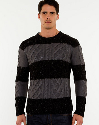 Cable Kit Crew Neck Sweater