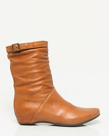 Italian Made Leather Boot
