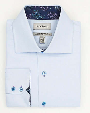 Cotton European Fit Shirt