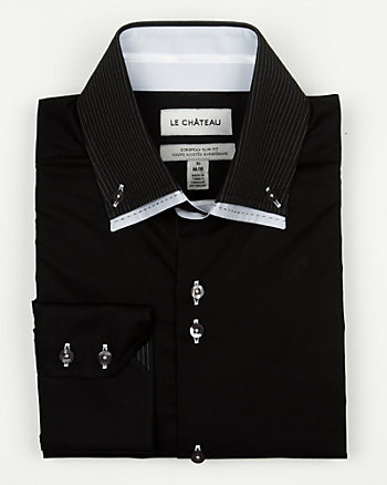 Cotton Blend Euro Fit Shirt