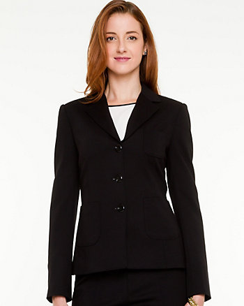 Ponte Classic Notch Collar Blazer