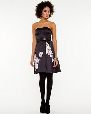 Sweetheart Neckline Fit & Flare Dress