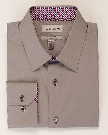Sateen Tailored Shirt