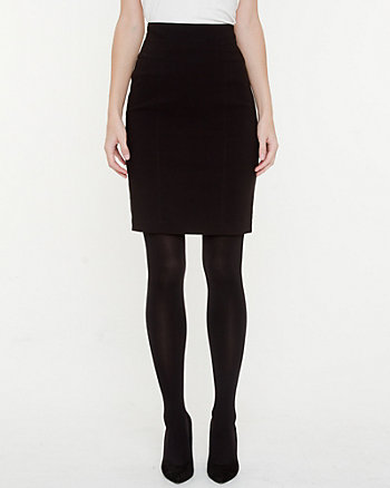 Bengaline High Waisted Pencil Skirt