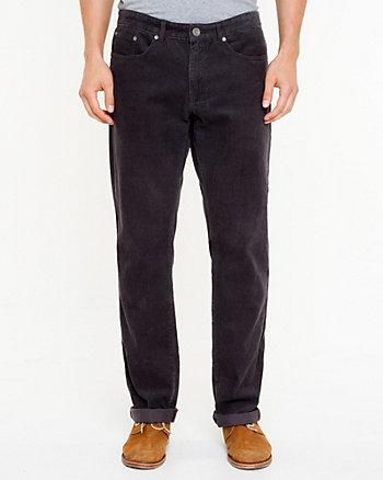 Corduroy Straight Leg Pant