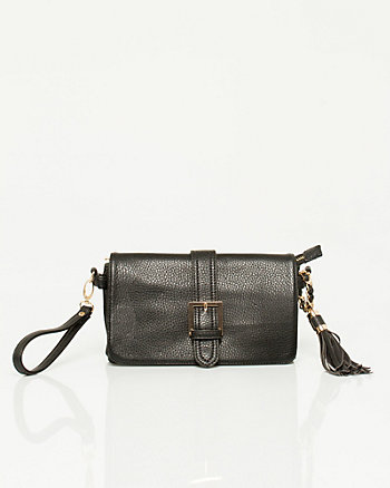 Leather-like Wristlet