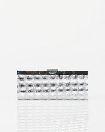 Gemstone Embellished Clutch