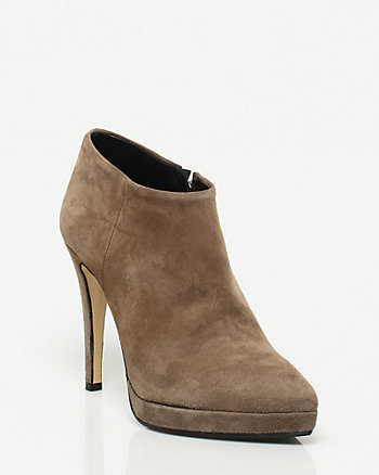 Italian Made Suede Shootie