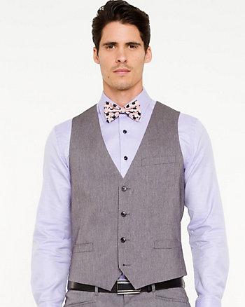 Cotton Blend City Fit Vest