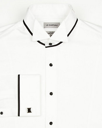 Sateen Tailored Fit Shirt