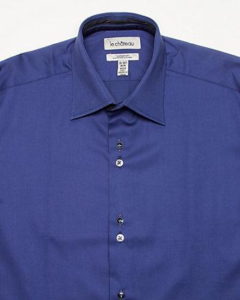 Cotton Sateen Tailored Shirt
