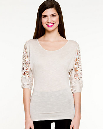 Jersey Scoop Neck Top