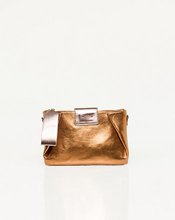 Leather-like Origami Clutch