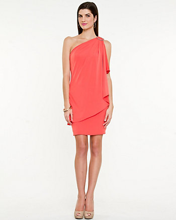 Knit Asymmetrical Dress