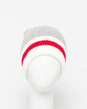 Colour Block Wool Blend Beanie