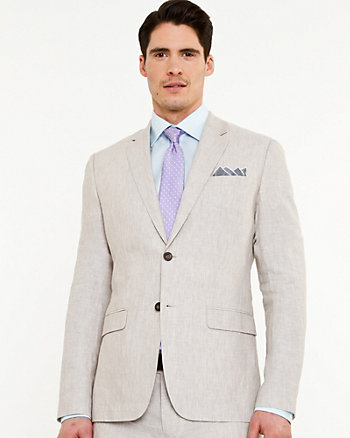 Linen Contemporary Fit Jacket
