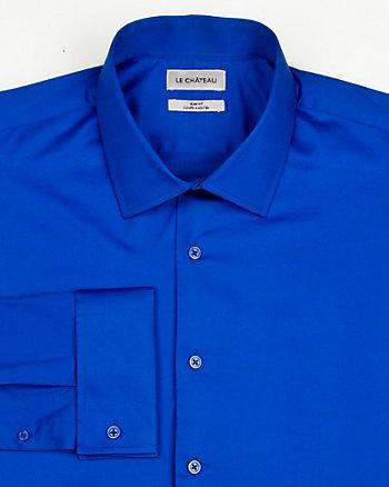 Stretch Sateen Slim Fit Shirt