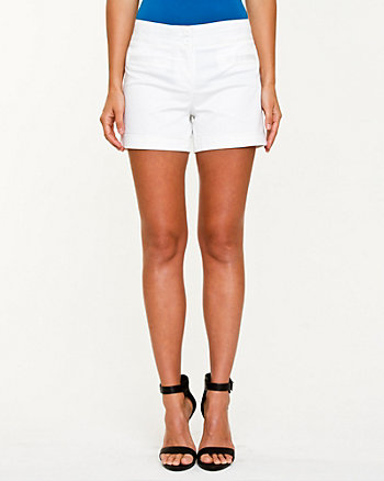 Cotton Sateen Short