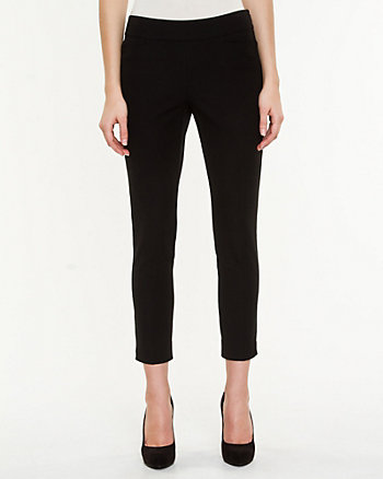 Cotton Gabardine Crop Pant