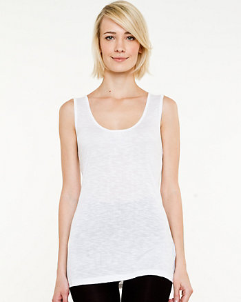 Jersey Scoop Neck Tank
