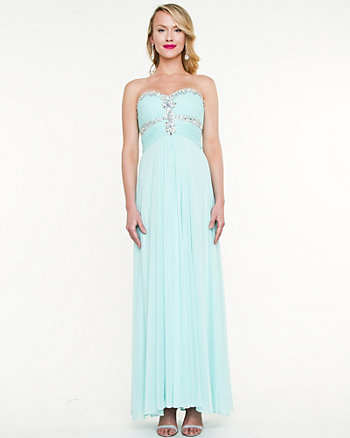 Iridescent Sweetheart Gown