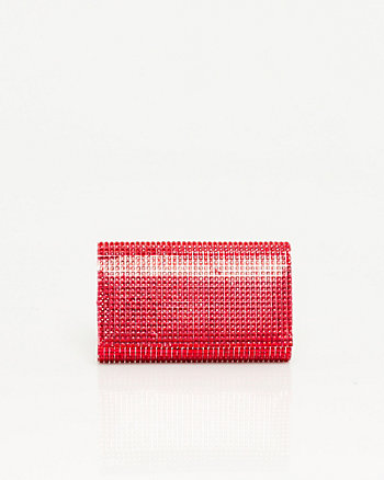 Gemstone Flapover Clutch