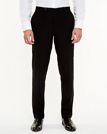 Wool Slim Leg Pant