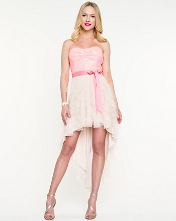 Sweetheart High-low Dress