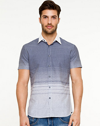 Ombré Short Sleeve Shirt