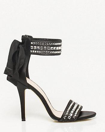 Gemstone Ankle Strap Sandal