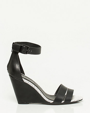 Stingray Ankle Strap Wedge