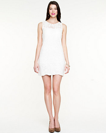 Lace Illusion Dress