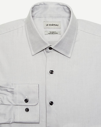 Twill Tailored Fit Shirt