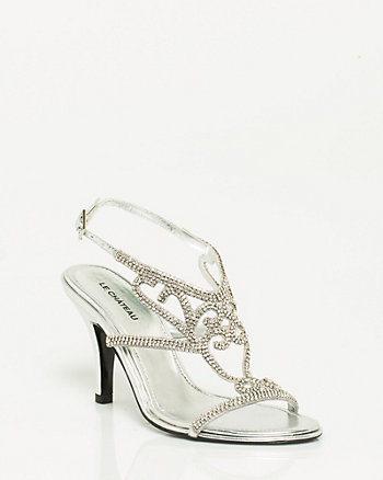 Jewel Encrusted Sandal