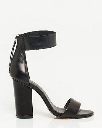 Leather Ankle Cuff Sandal