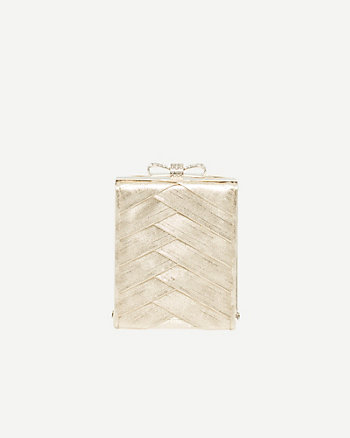 Pleated Metallic Clutch